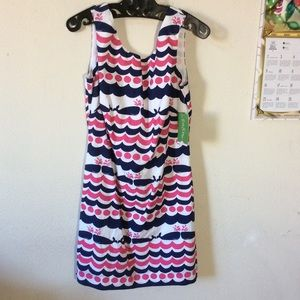 Lilly Pulitzer Dresses - Lily Pulitzer Whales Print Summer Dress